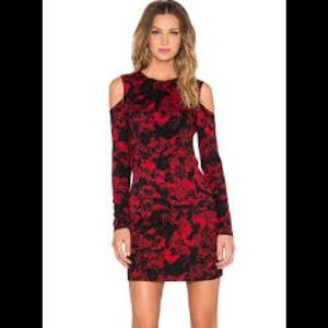 Parker red Duffy dress. Size small NEW WITH TAGS